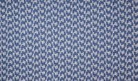 Chambrai Embroidered Cotton Denim Fabric Material - 031